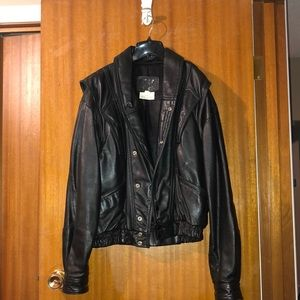 Leather Ranch Jacket